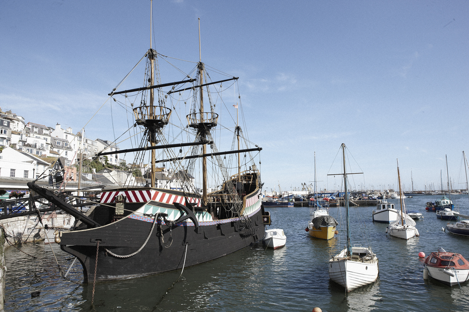 Golden Hind in Brixham - Dog Friendly visitor attraction