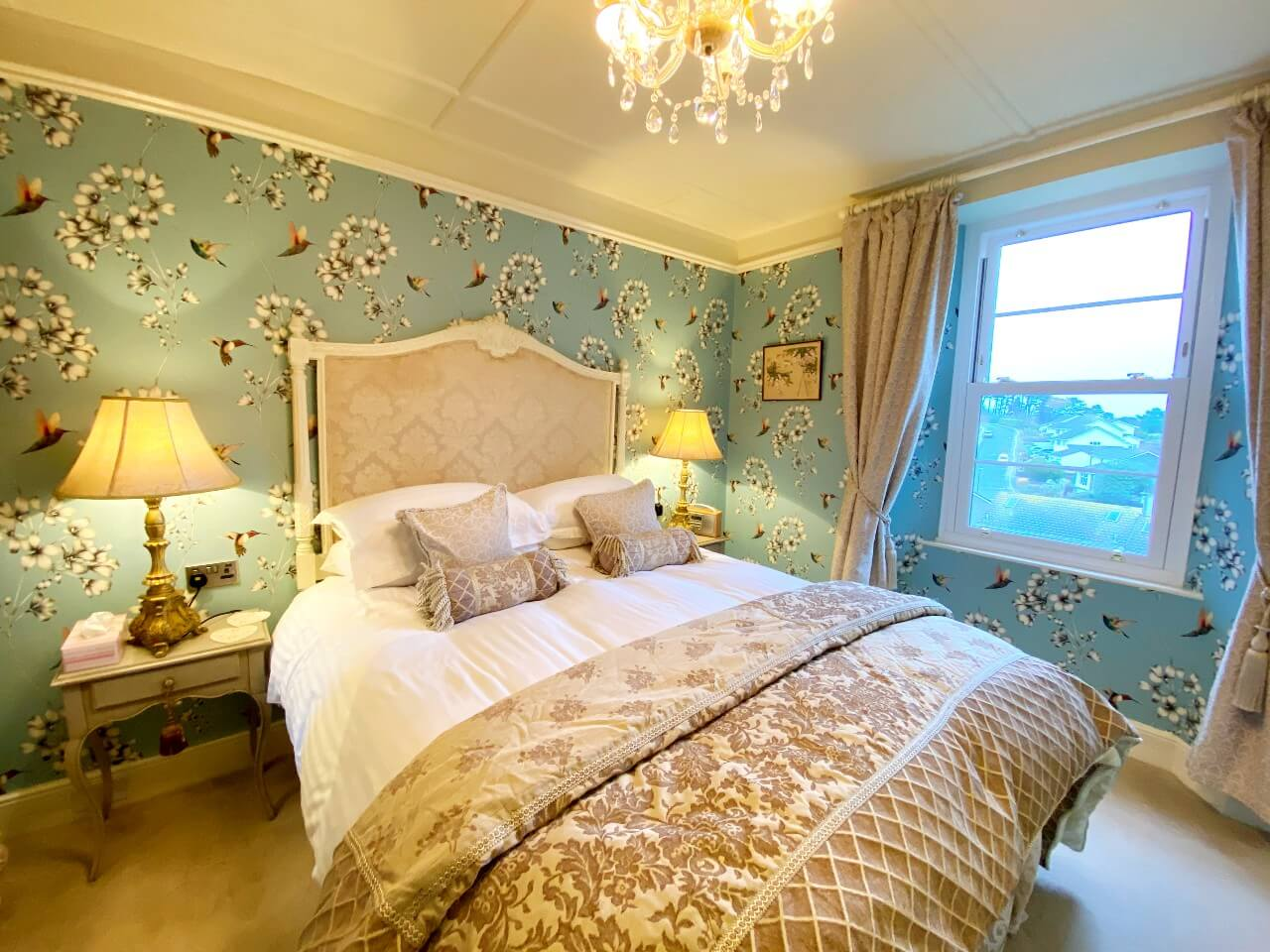 The Main Bedroom at The Muntham Town House