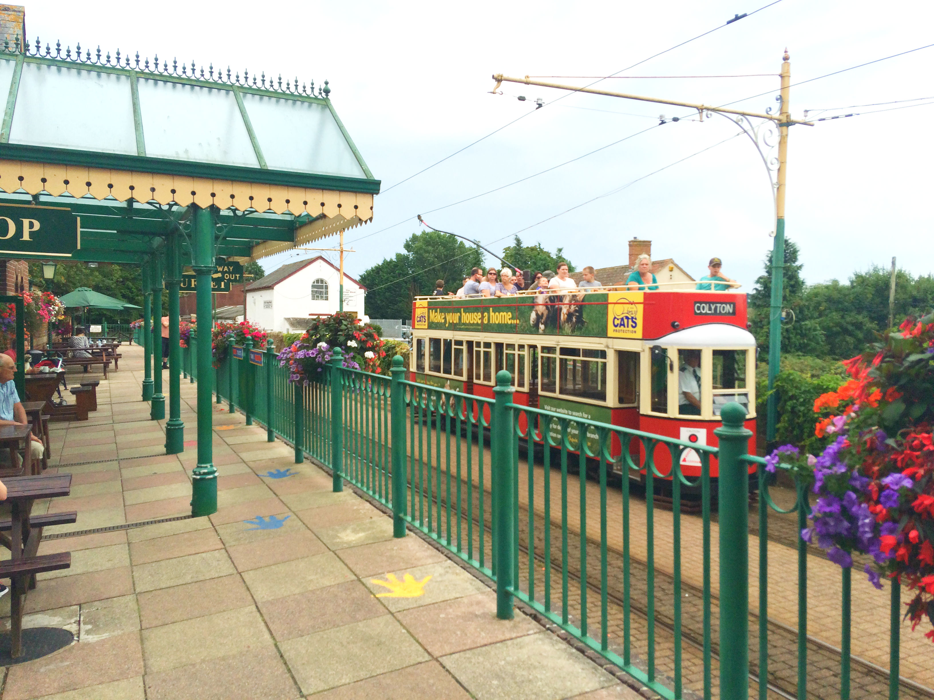 The Seaton Tramway - dog friendly visitor attraction near Torquay.