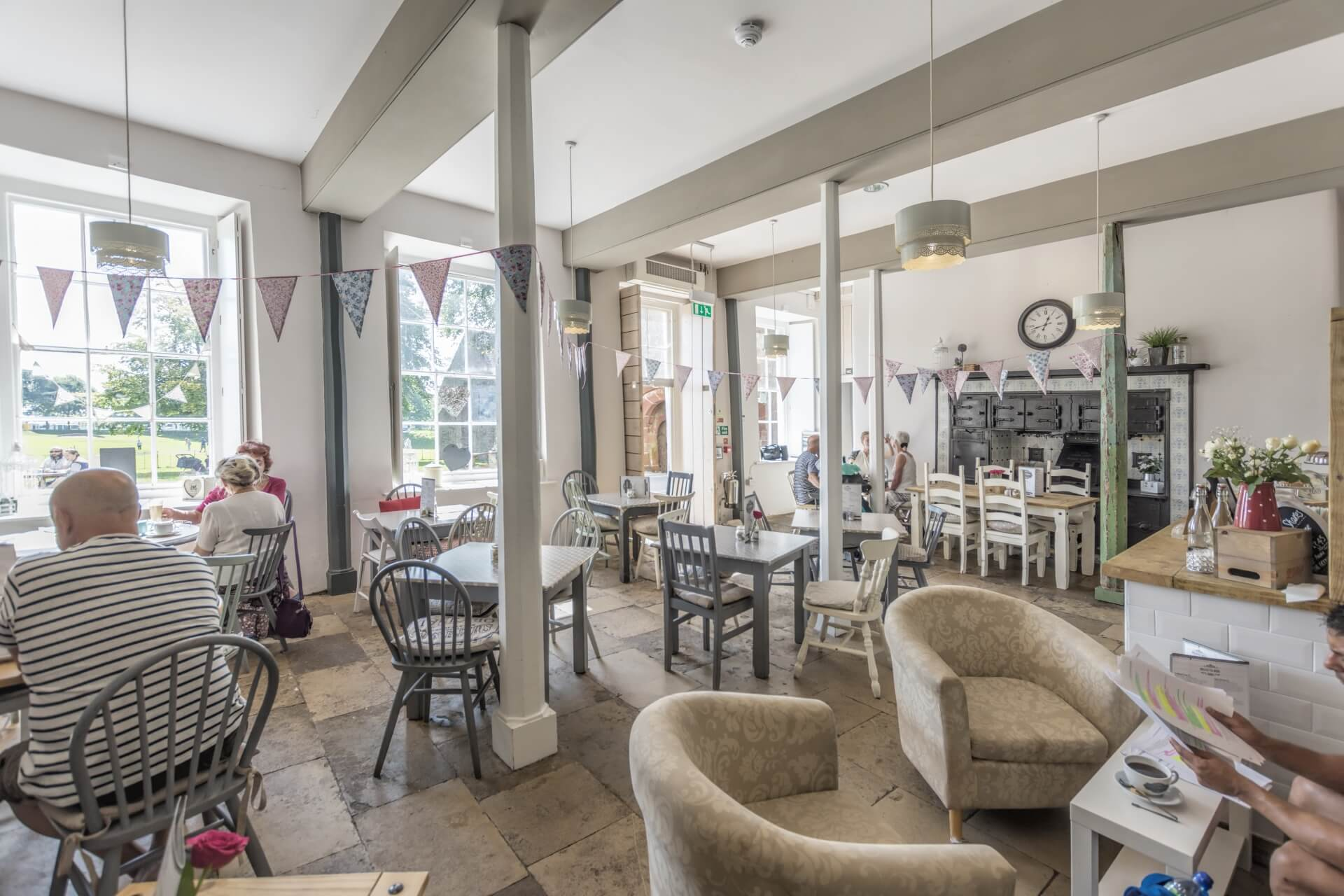 Torre Abbey Tea Rooms - Dog friendly Place to eat in Torquay